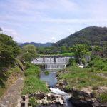 柊野ダムの今日の様子です。