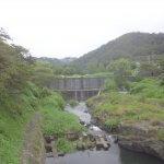 柊野ダムの水かさ
